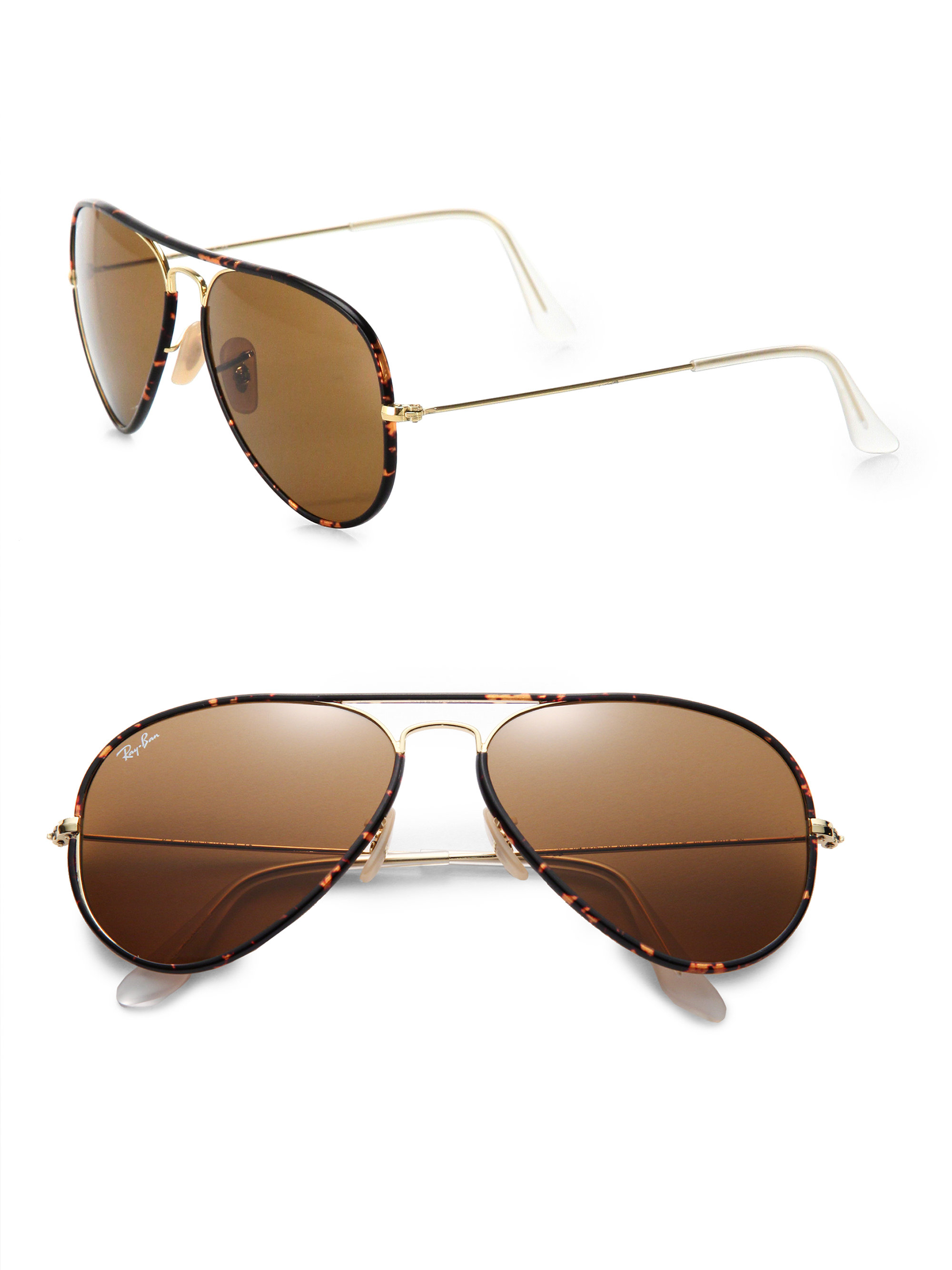 c69443c93d6 Ray Ban Aviator 58mm Brown « Heritage Malta