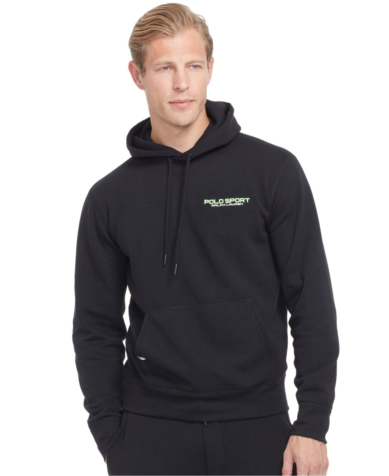 polo ralph lauren polo sport fleece pullover hoodie in. Black Bedroom Furniture Sets. Home Design Ideas