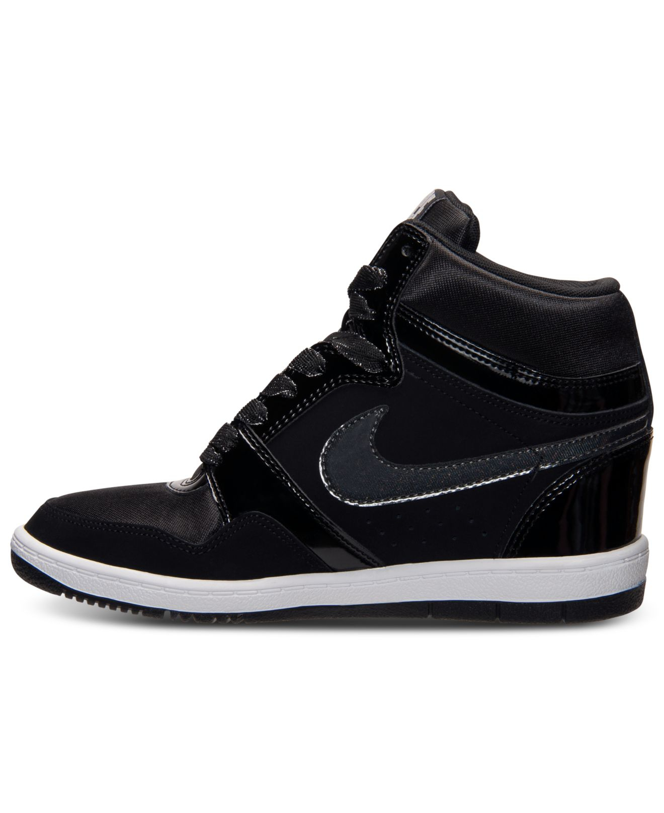 f76095efa288b Women's Nike Force Sky High Casual Shoes - 629746 012 | Finish Line | Black/