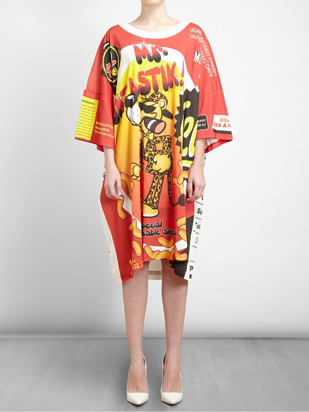 Lyst Moschino Mr Funtastik T Shirt Dress