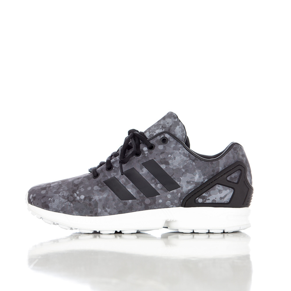 bfb8356944b5 Lyst - White Mountaineering Adidas X Zx Flux In Core Black in Gray ...