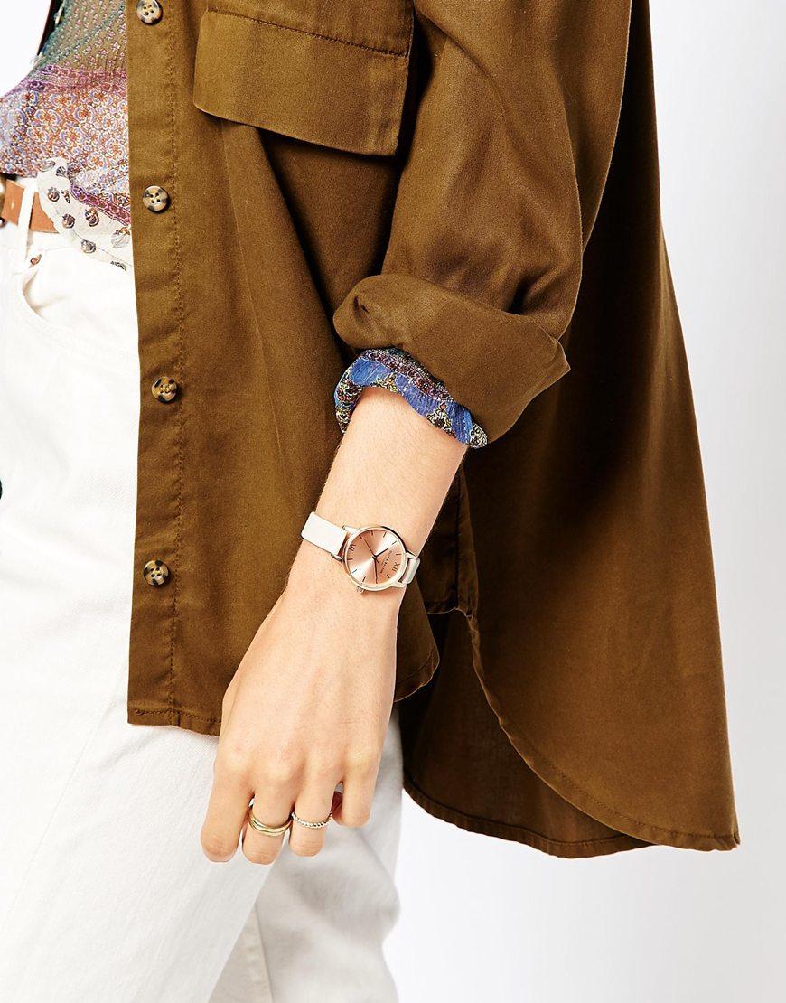 Lyst - Olivia Burton Midi Dial Mink Watch in Pink b08201d575
