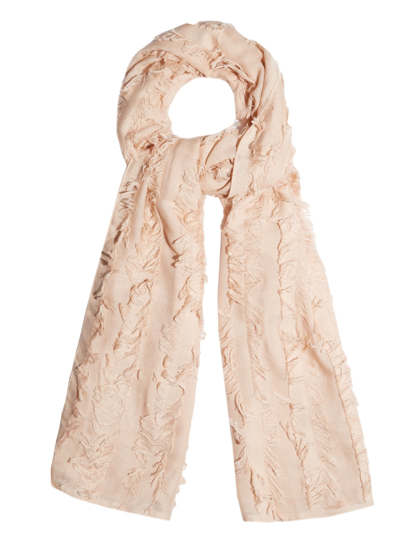 Wool and silk scarf Chlo R8Udo