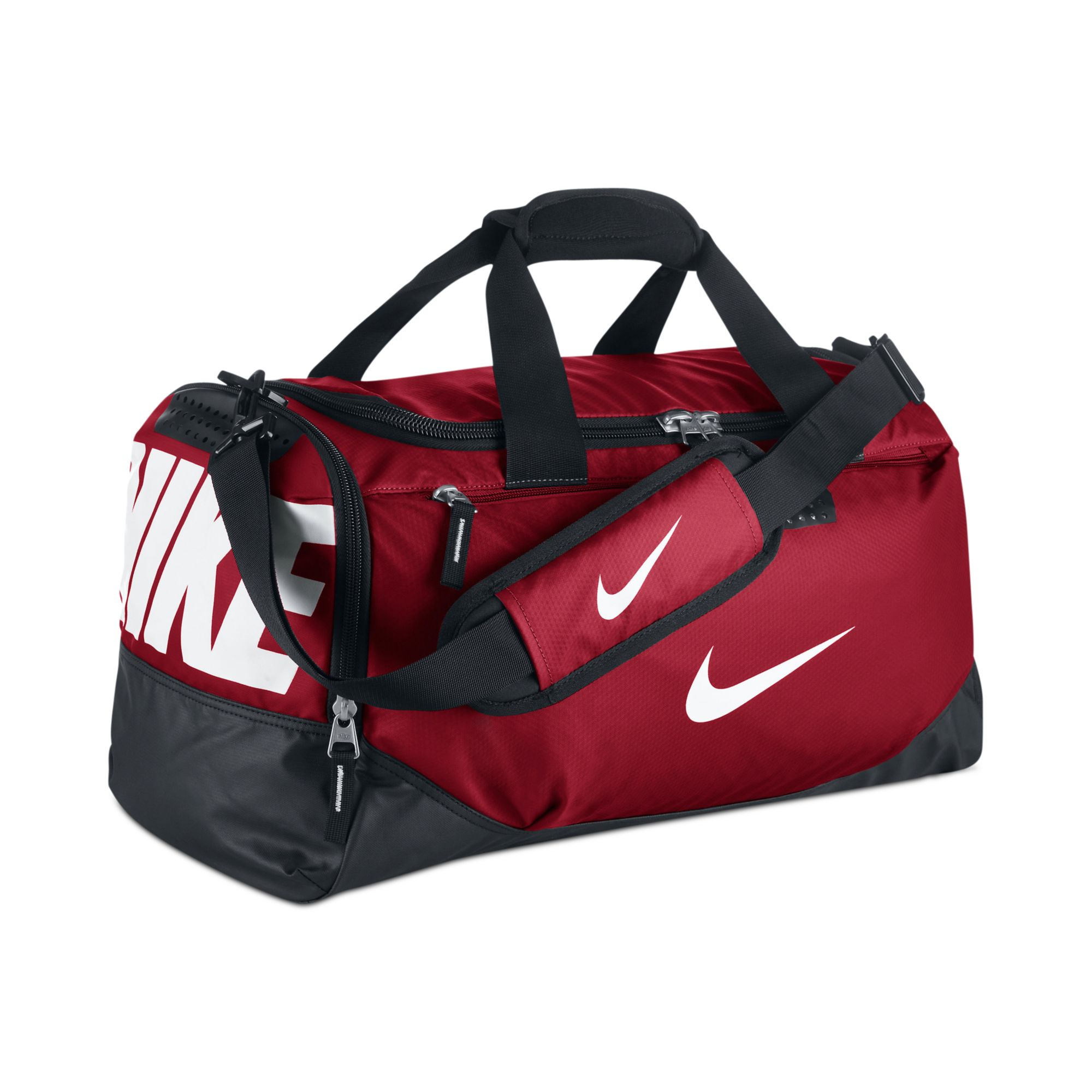 ... Bag (Red Black White)  Lyst - Nike Team Training Small Duffle in Red  for Men ... 6d41039558a02