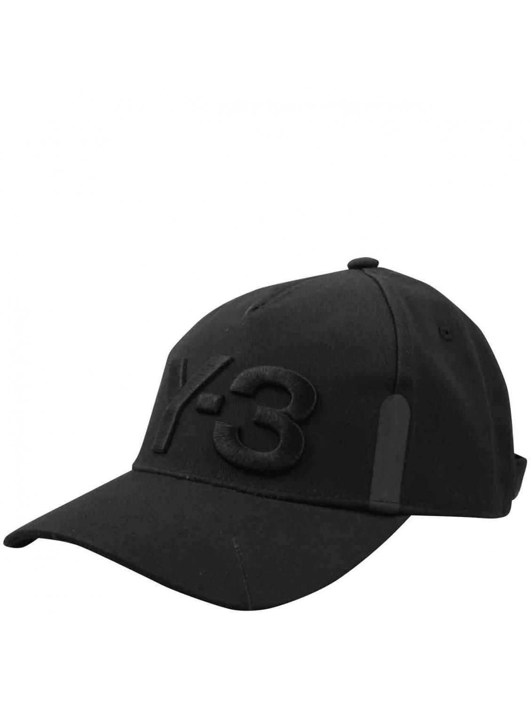 76b1f71fc25 Y-3 Black Six Panelled Architect Cap in Black for Men - Lyst
