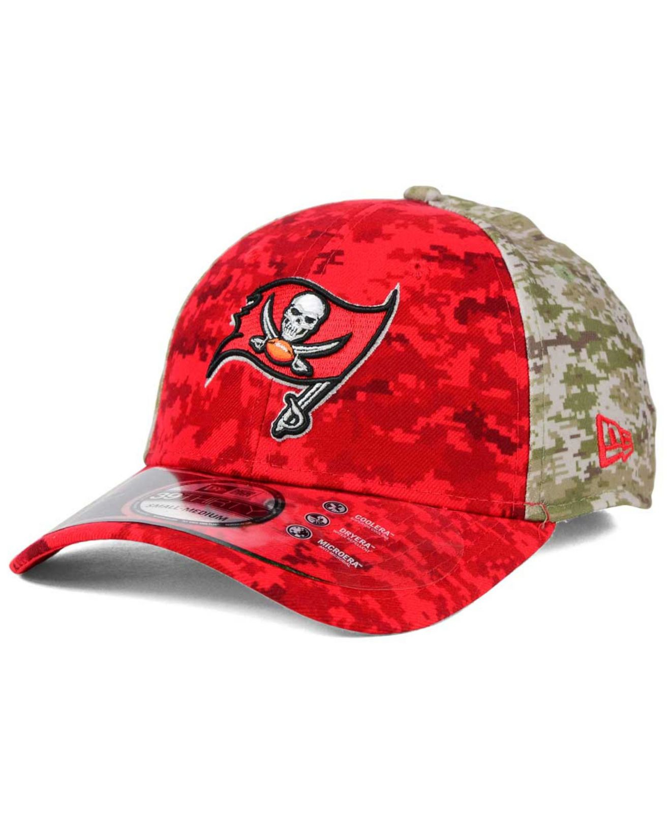 9cff99f5d ... spain lyst ktz tampa bay buccaneers salute to service 39thirty cap in  6cc7b f9597
