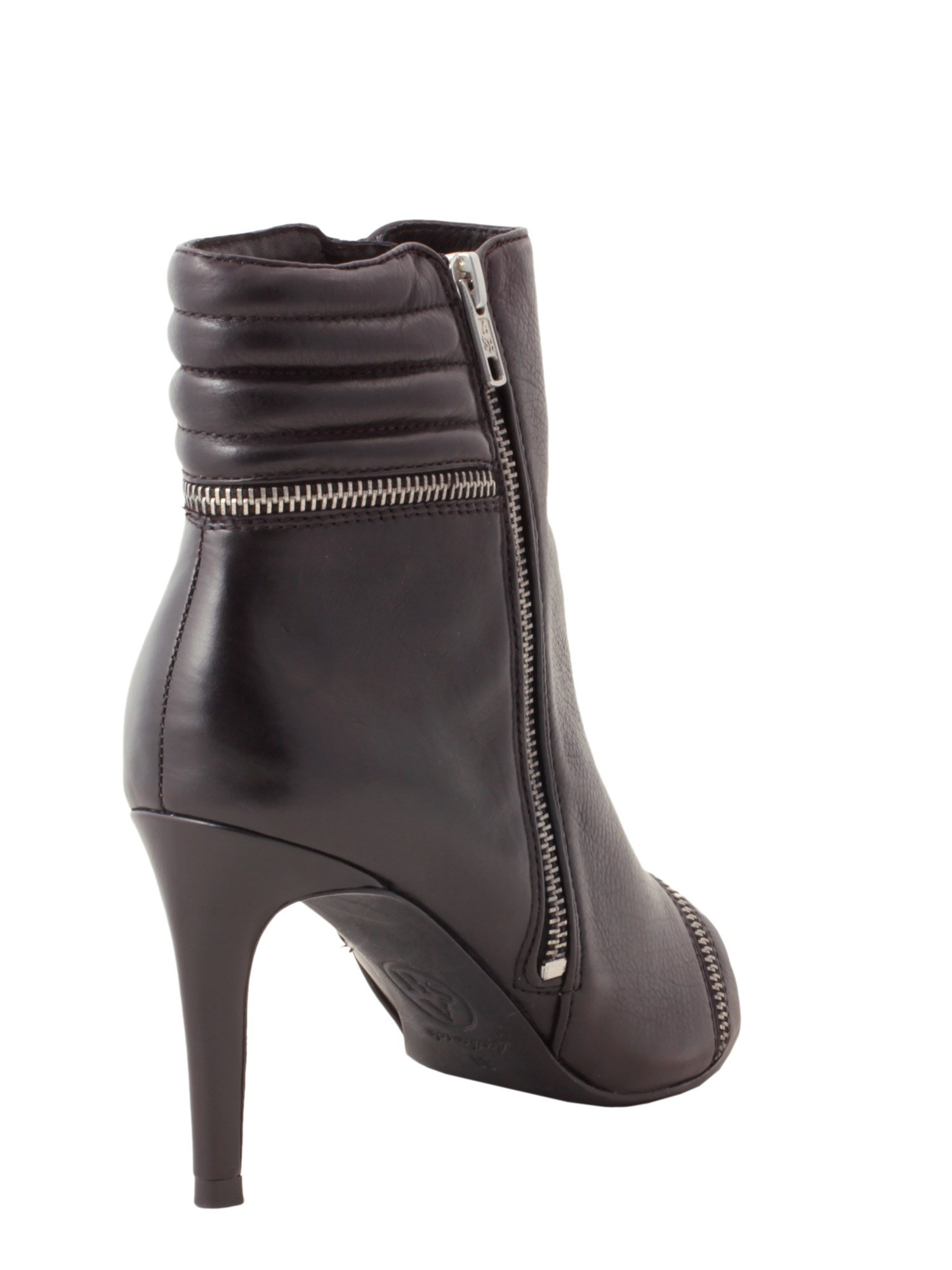 ash leather boot in black nero lyst