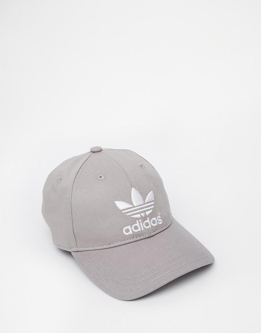 6fa07d635fc86 adidas Originals Classic Snapback Cap in Gray for Men - Lyst