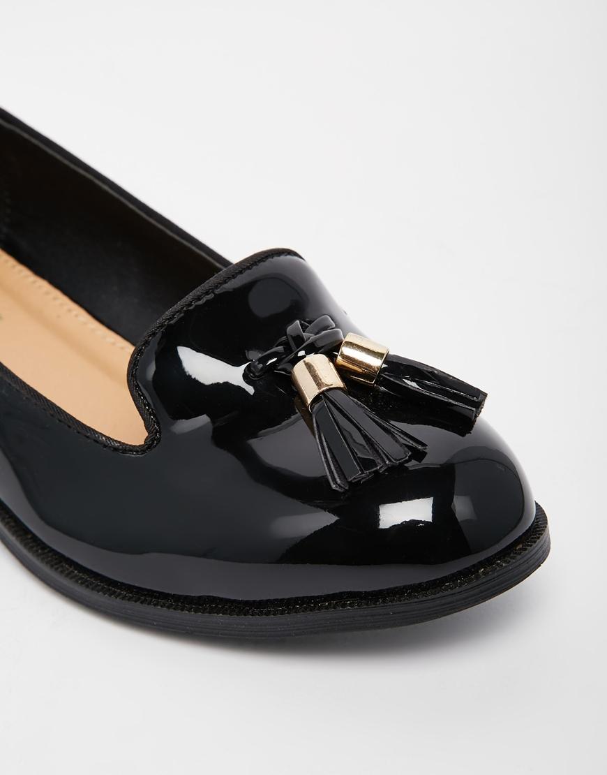 9377de844c3 Lyst - Miss Kg Knight Tassel Loafers in Black