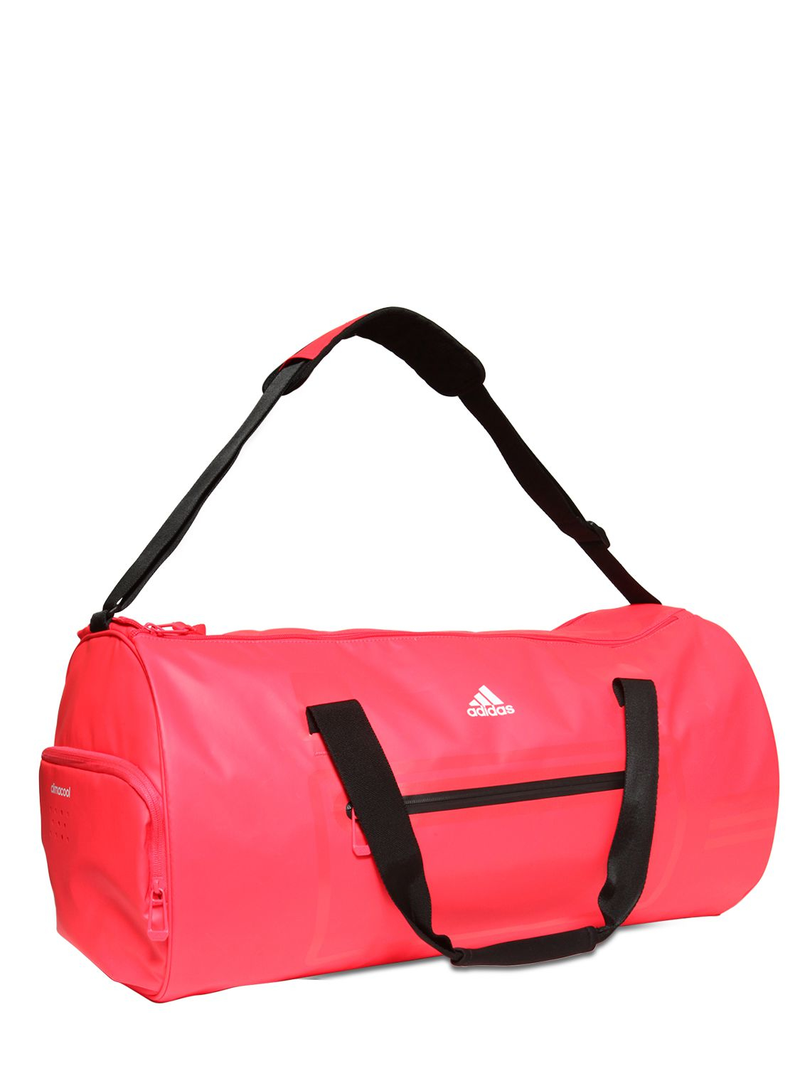 32af223862 adidas Originals Water Repellent Coated Nylon Duffle Bag in Red - Lyst
