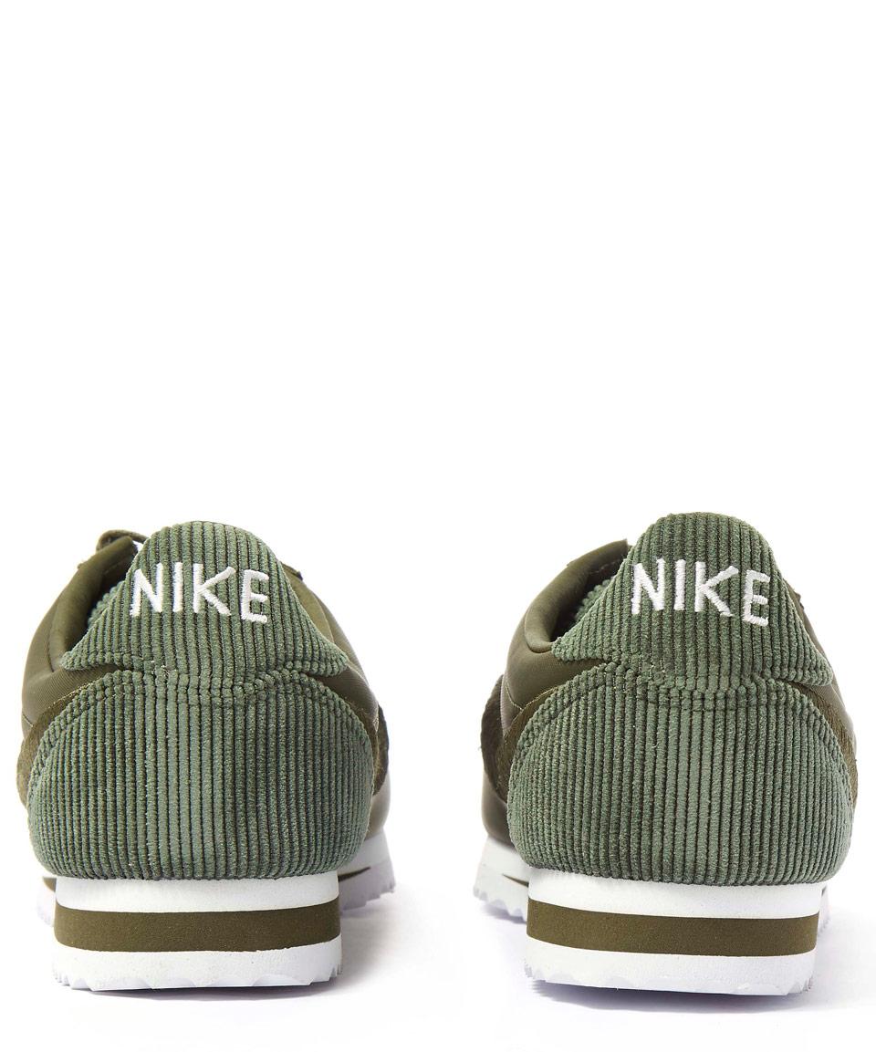 Khaki Nike Cortez