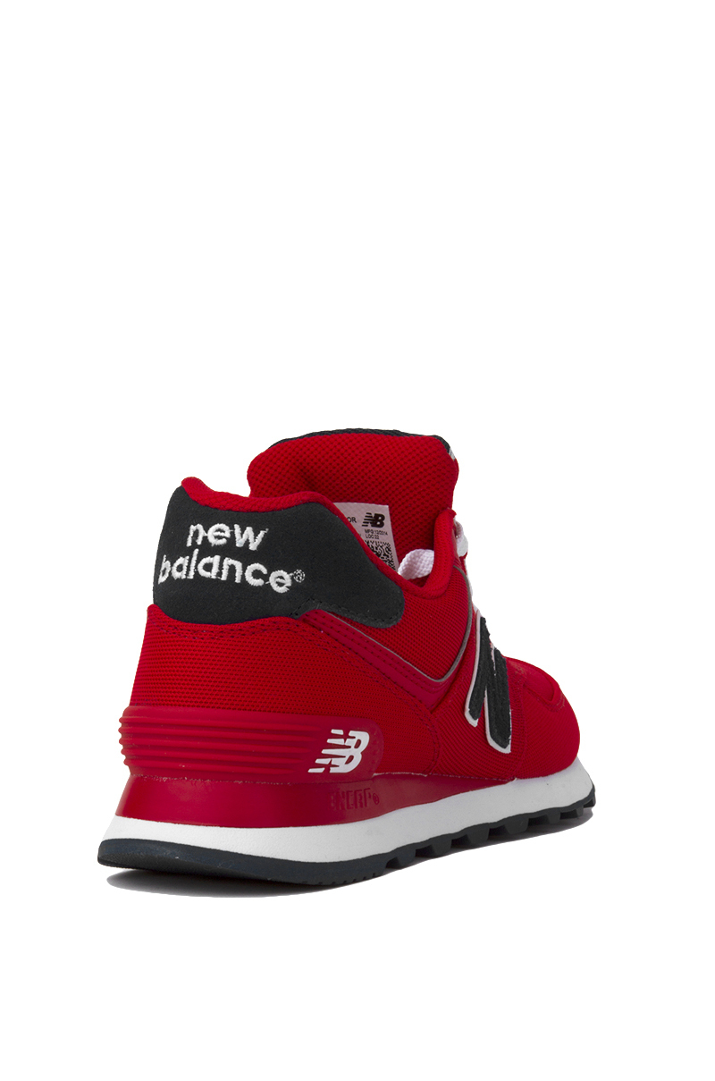 detailed look 36ed7 f0687 Red Sneakers In 574 Lyst New Balance Woven q7Z7YI