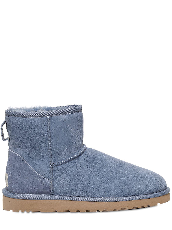 ugg slippers blue