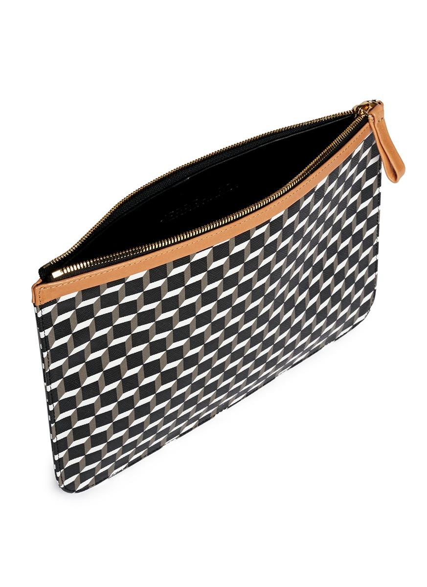 Pierre Hardy Printed zipped pouch 3xSmL