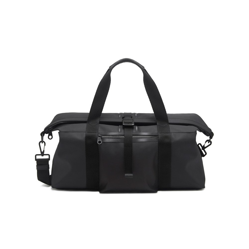 49c58f0cca ... clipper chocolate brown canvas leather gym bag excellent 590f3 099aa   best lyst mulberry fleet holdall in gray for men dcd32 6c621
