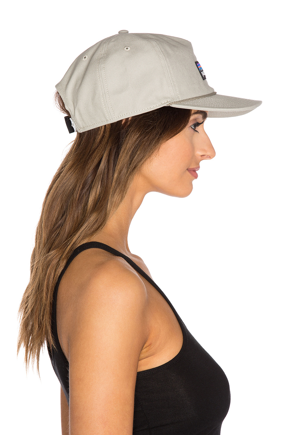 Lyst - Patagonia P-label Stand Up Hat in Gray 601a22756fba