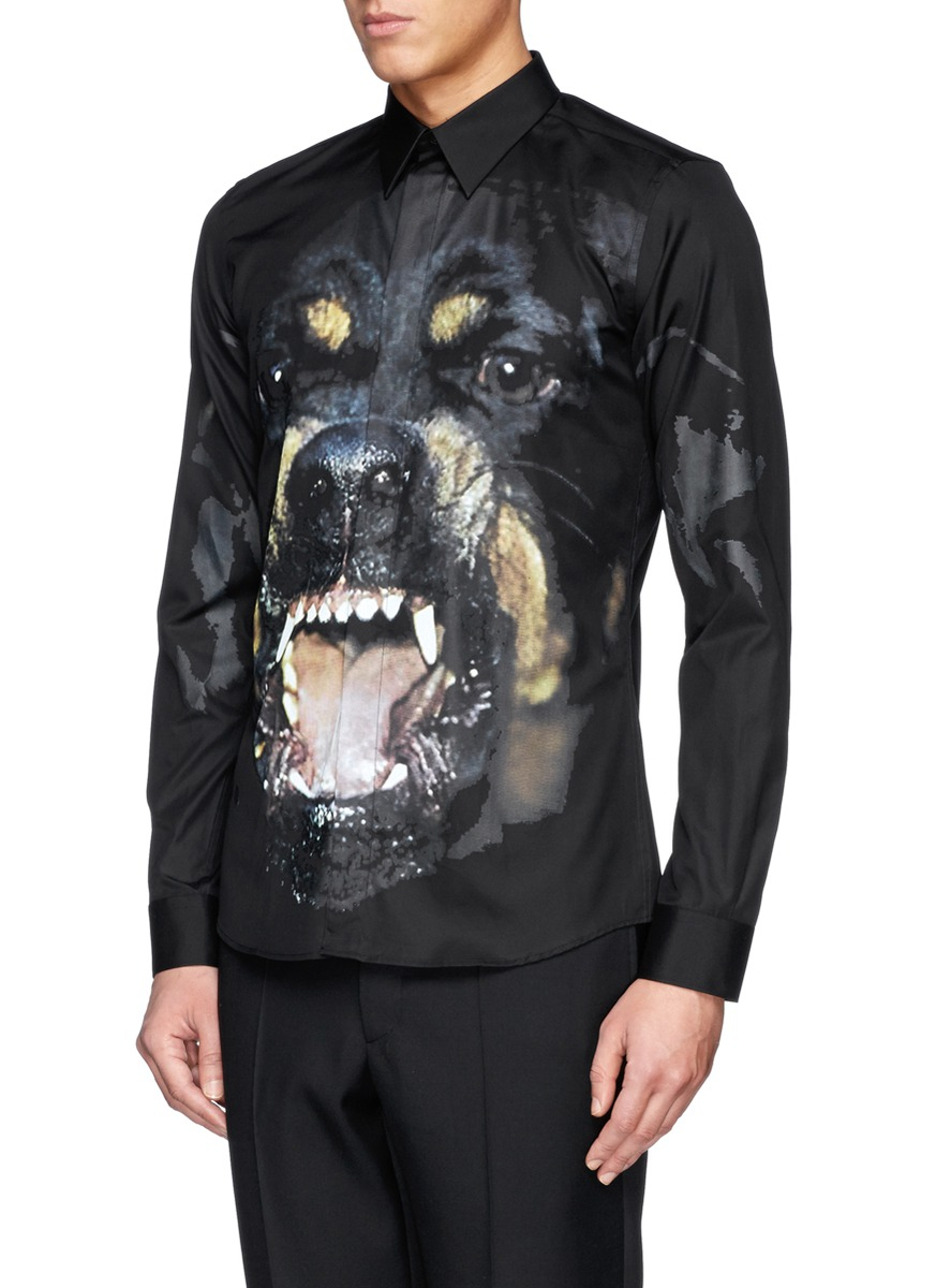 Rottweiler print dress Givenchy