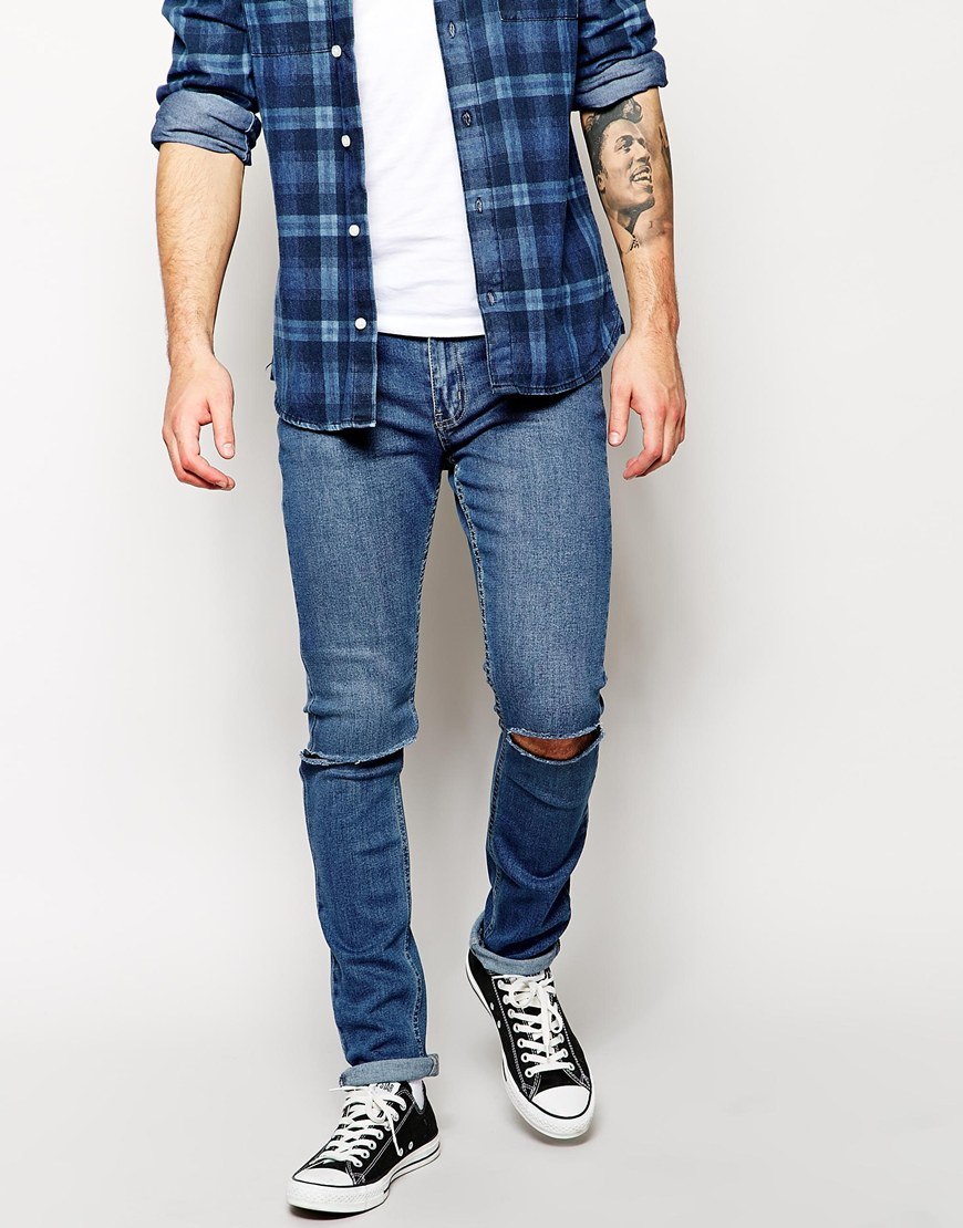 Cheap Distressed Skinny Jeans