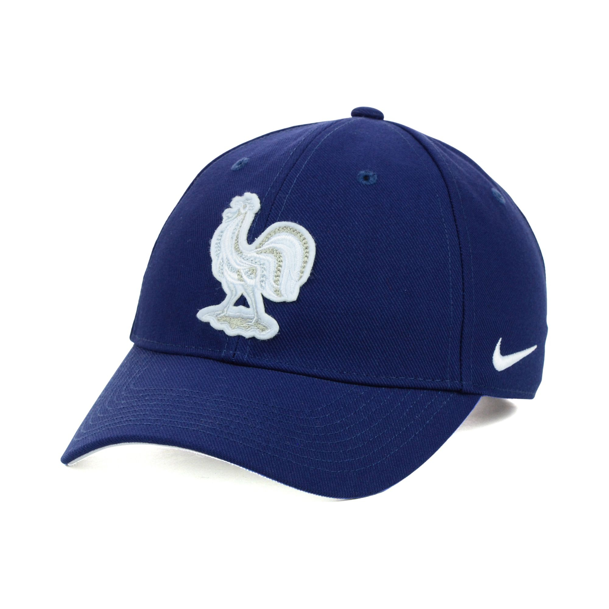 Nike France World Cup National Team Core Cap In Blue For