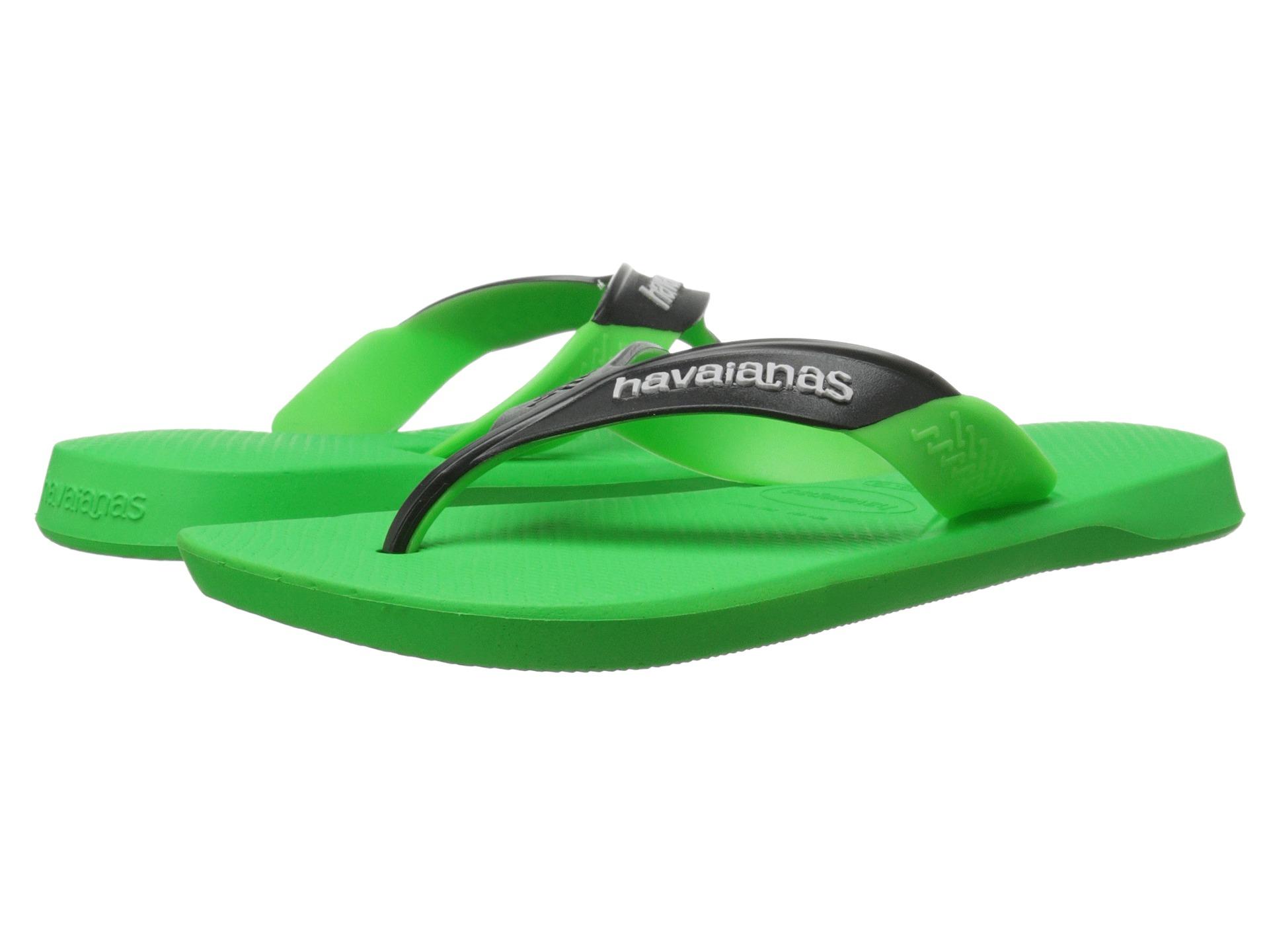Lyst Havaianas Dynamic Flip Flops In Green For Men
