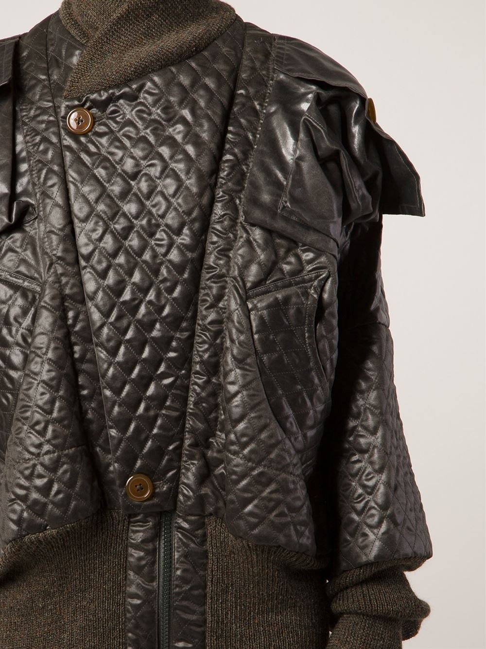 Vivienne Westwood Clint Eastwood Bomber Jacket In Black Lyst