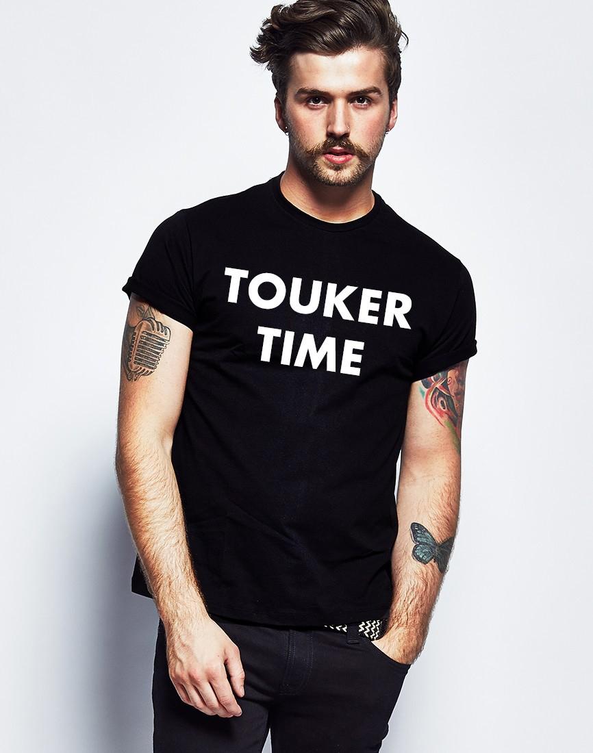 Black T Shirt Model