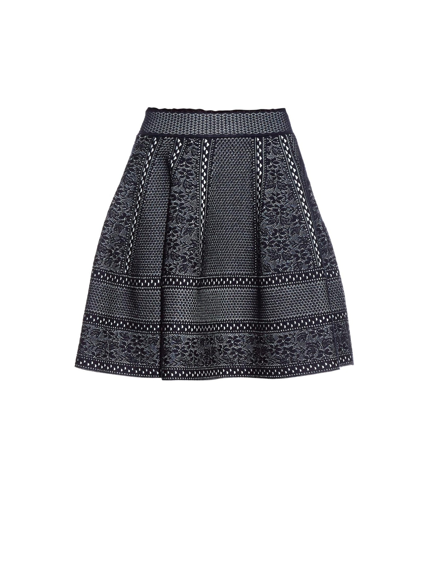 High Waisted A Line Skirt - Skirts