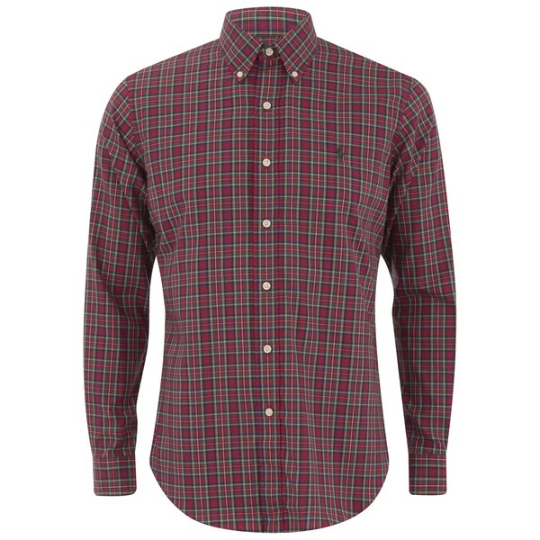 Polo ralph lauren Men's Long Sleeve Button Down Checked Shirt in ...