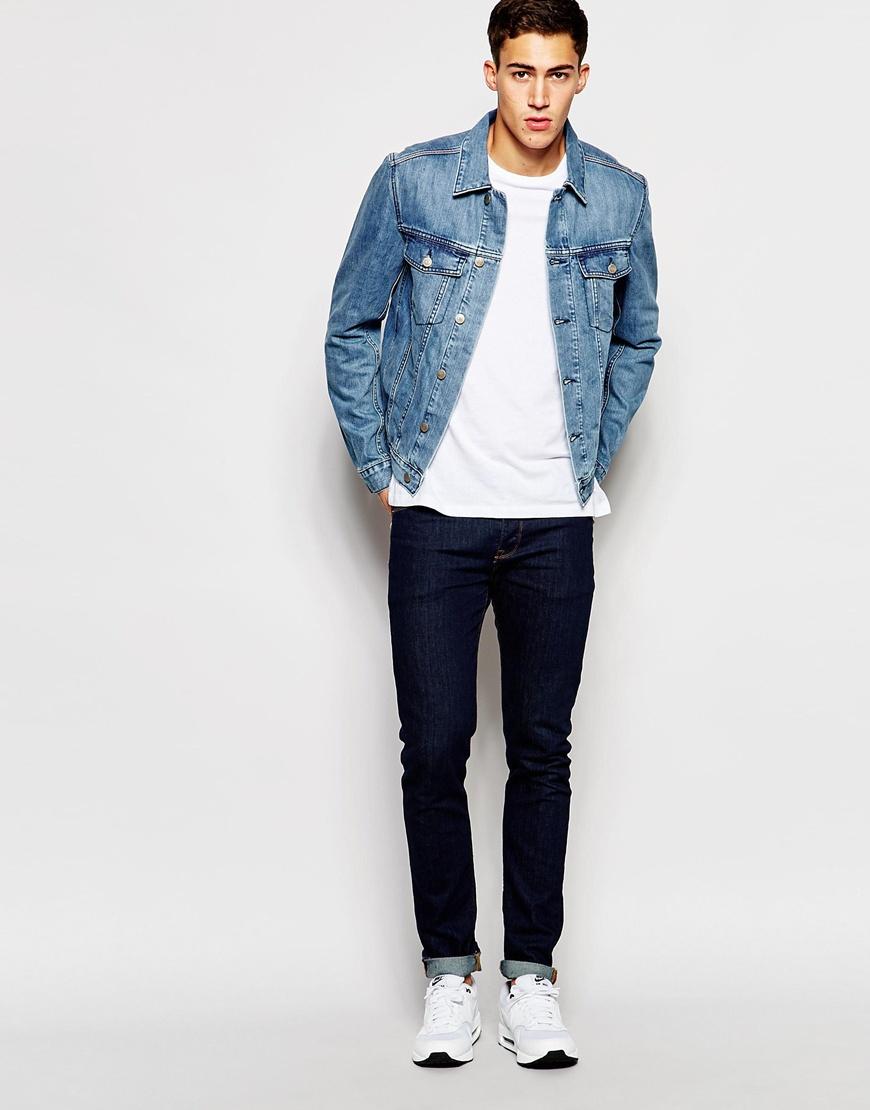Tommy Hilfiger Hilfiger Denim Iggy Jacket In Blue For Men