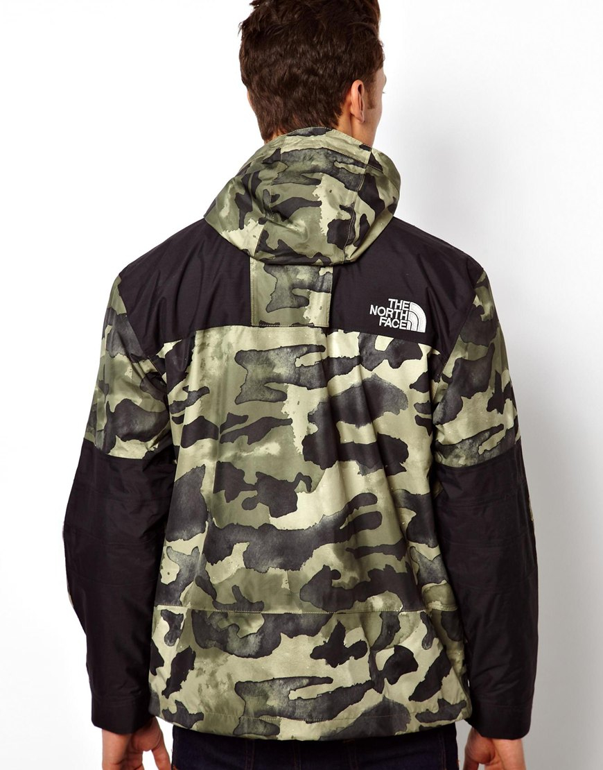 f96a5feb076b Lyst - The North Face Metro Mountain Parka in Green for Men