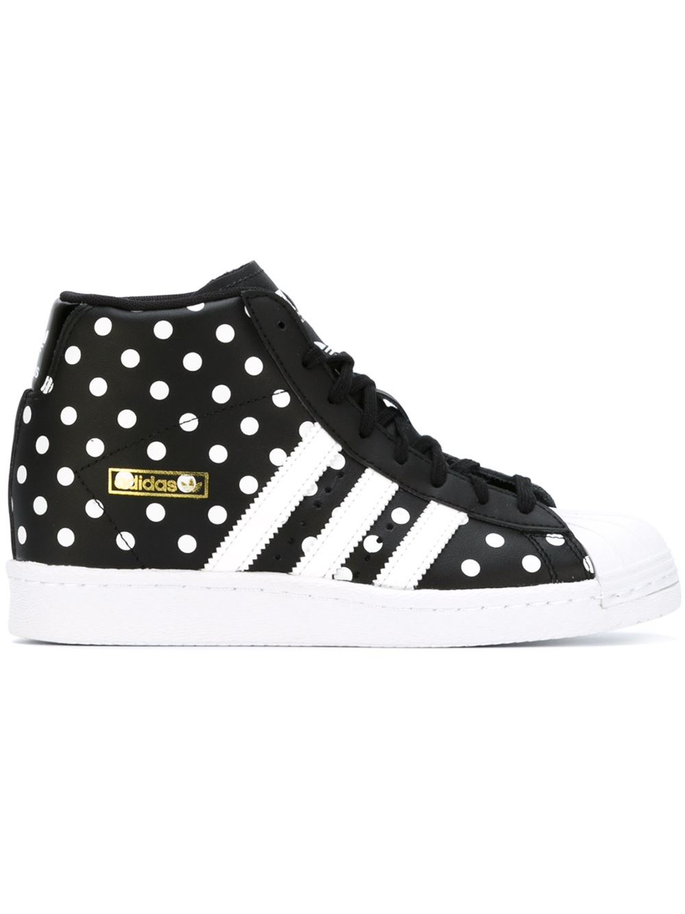 adidas  superstar Up  Hi-top Sneakers in Black - Lyst 7539894a3