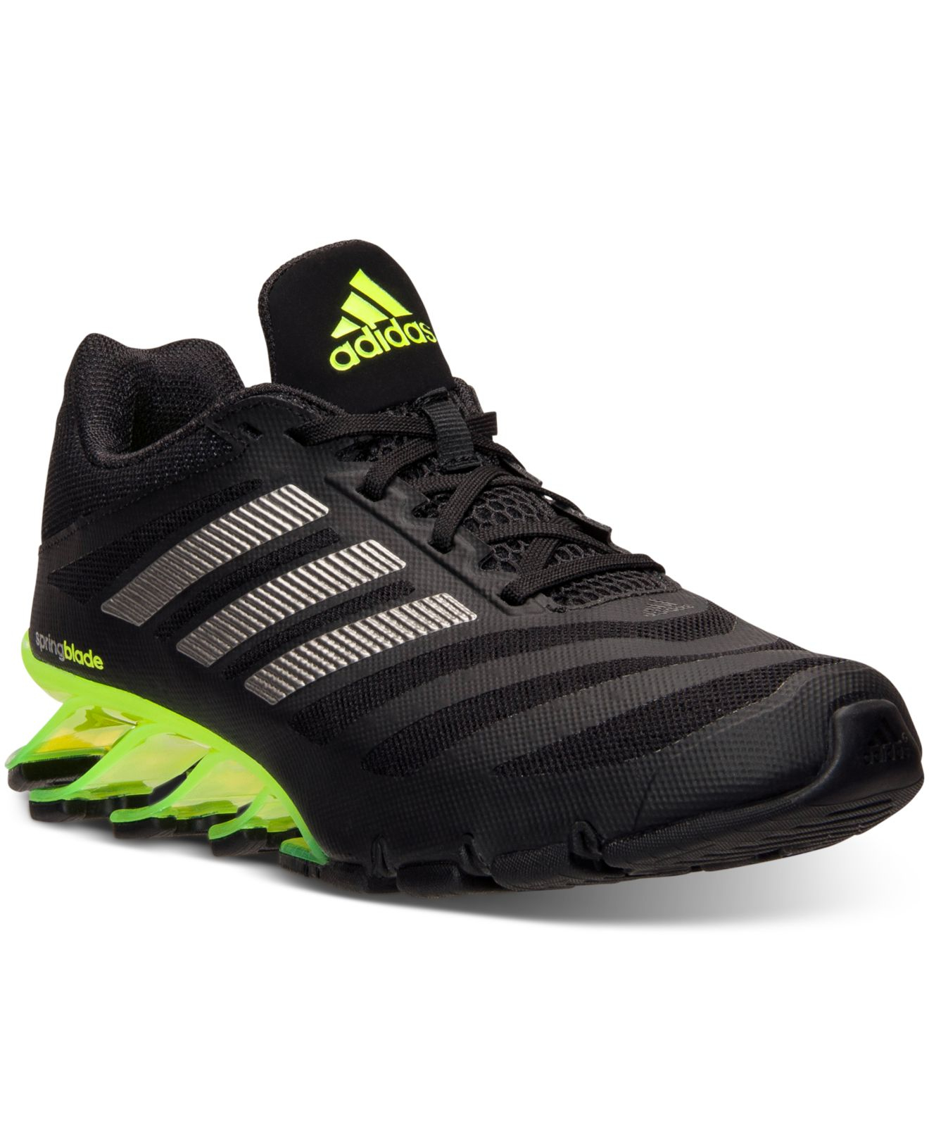 reputable site 104d5 1f5bb closeout lyst adidas mens springblade ignite running sneakers from finish  line in 0564c 5802b
