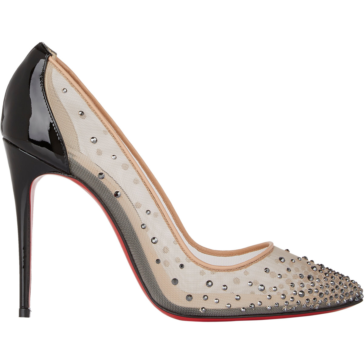 Christian Louboutin Strass Leather Pumps largest supplier cheap price outlet get authentic best store to get online N0u1H