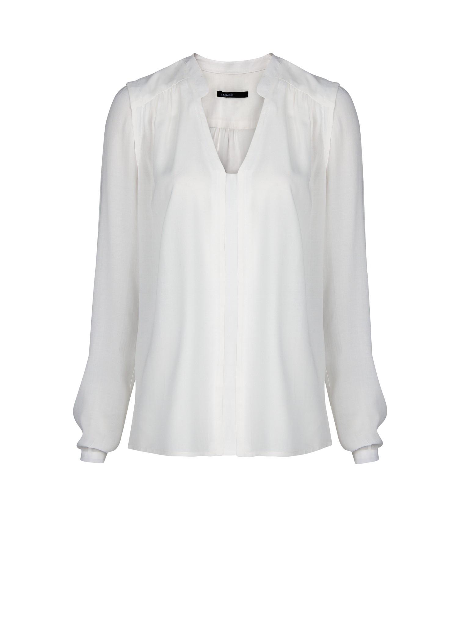 Flowy White Shirt | Is Shirt