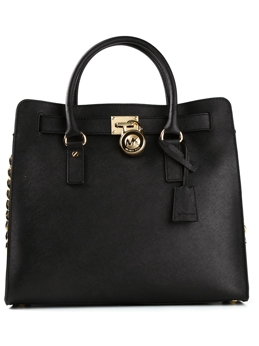 Michael By Michael Kors Hamilton Tote in Black