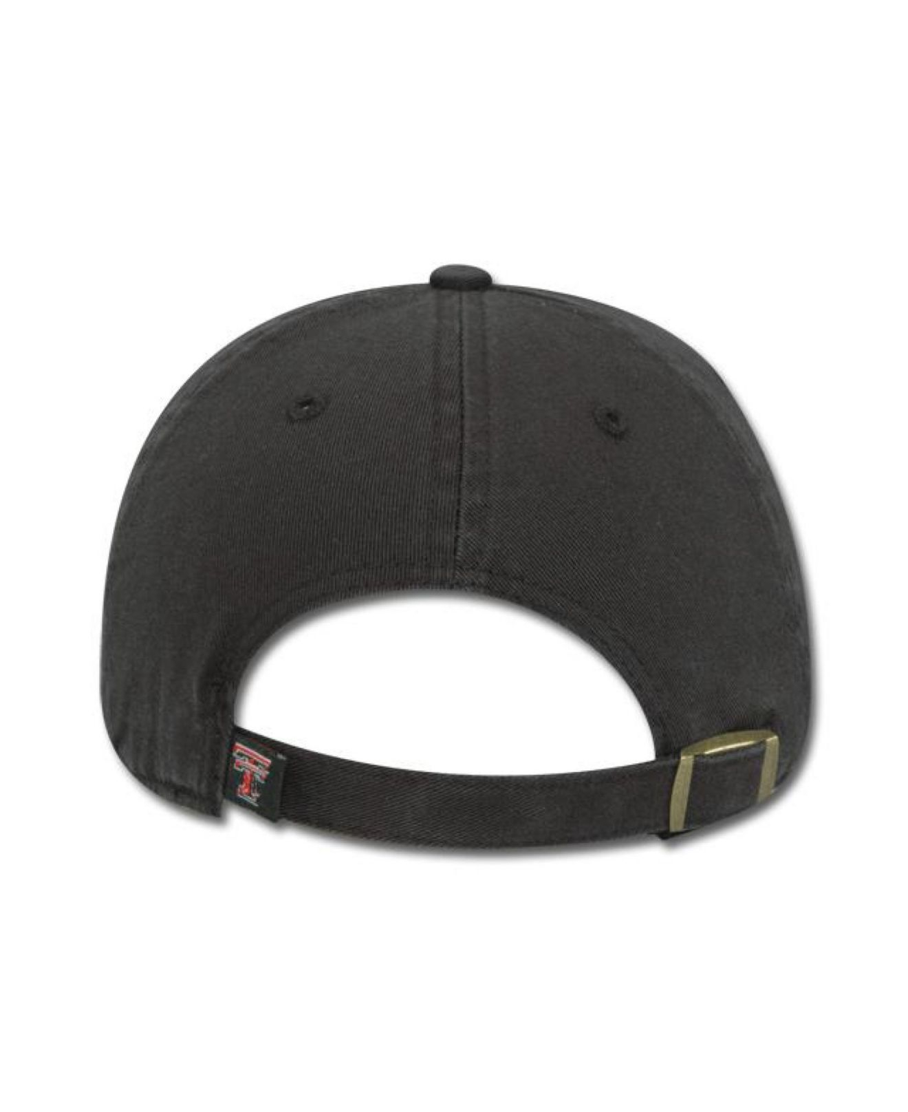best service 6faea 853ad ... get lyst 47 brand kids texas tech red raiders clean up cap in black  08aa9 9927a