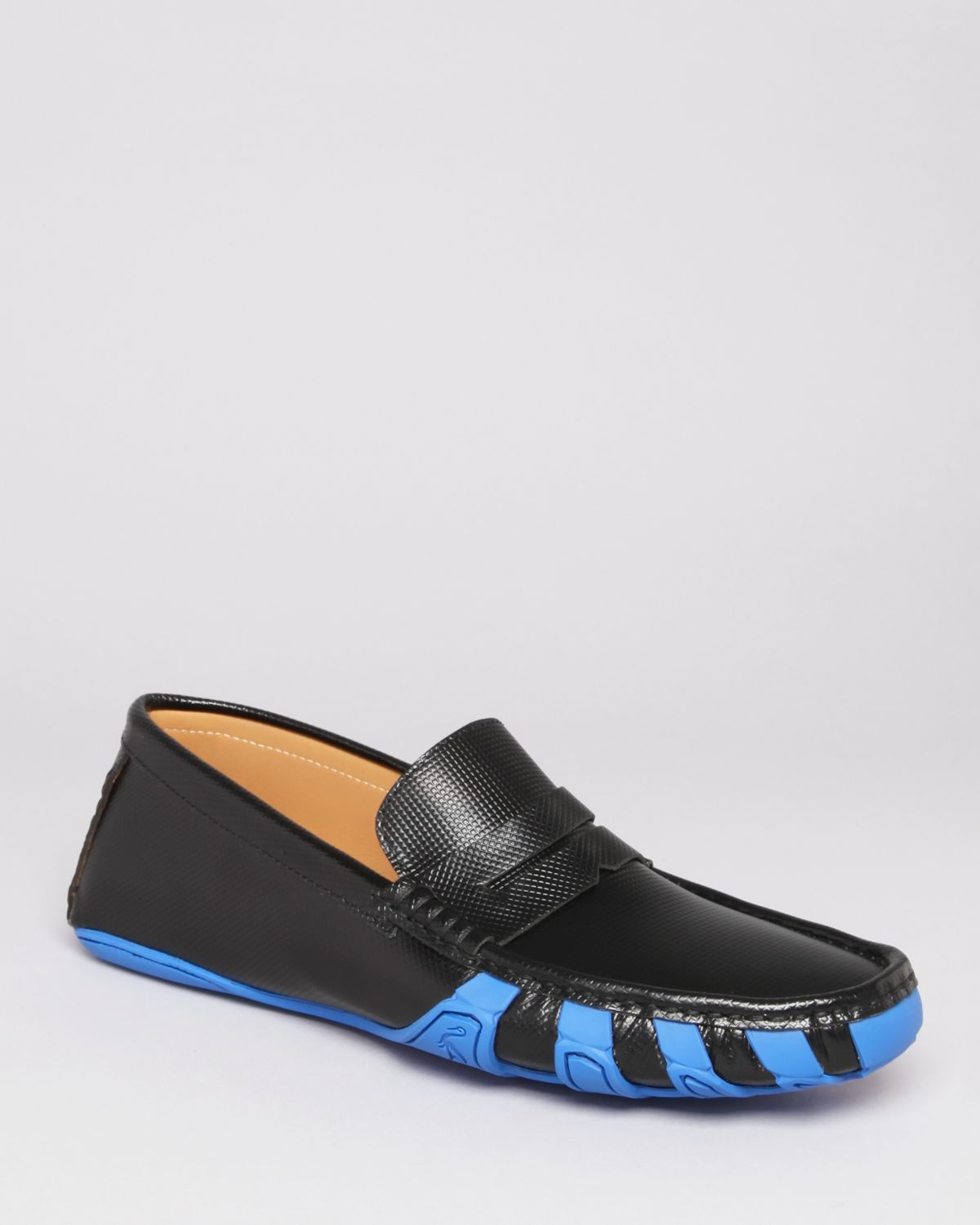 Harrys Of London Jet Penny Driving Loafers In Blue For