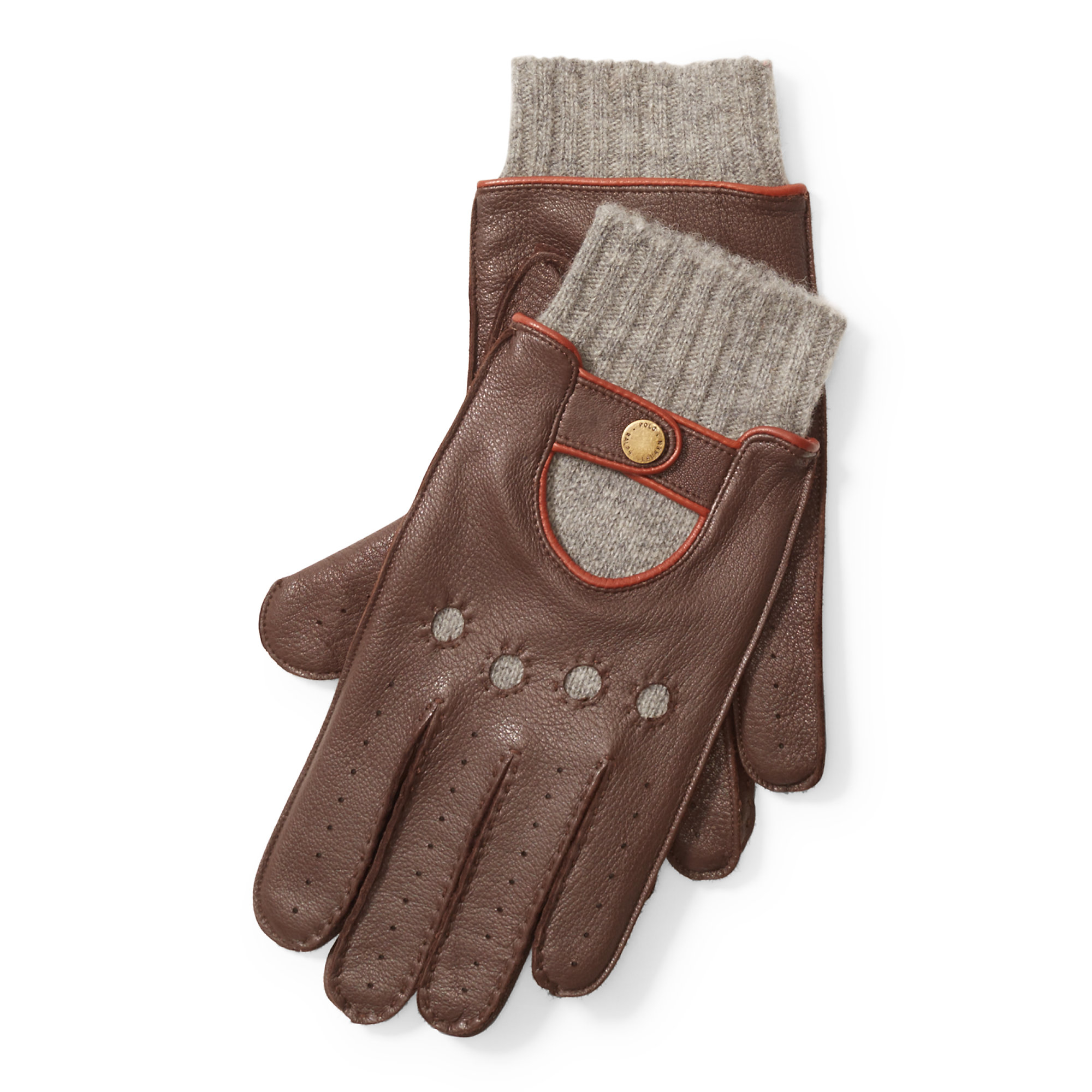 Deerskin leather driving gloves - Gallery Men S Driving Gloves