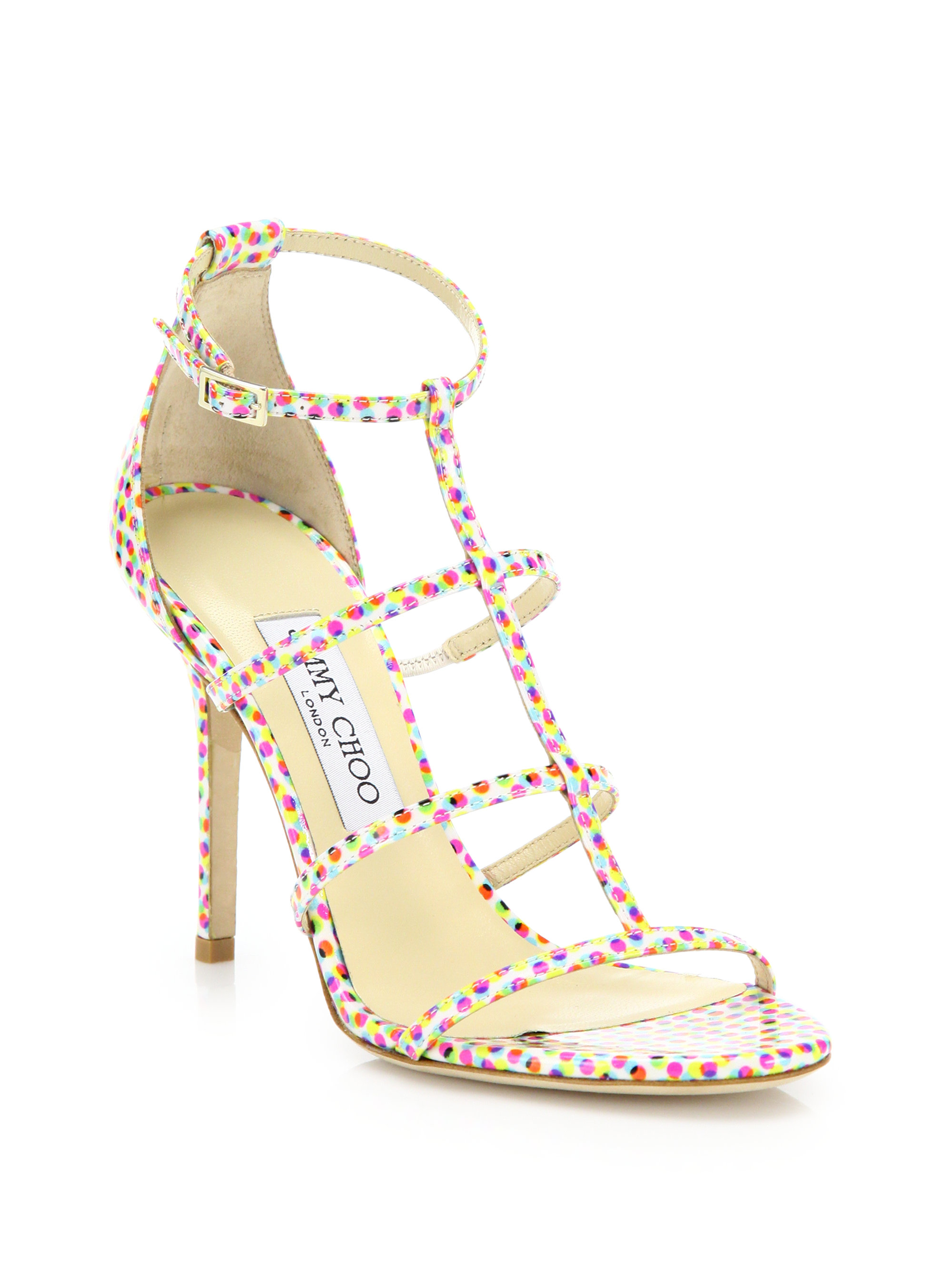 Jimmy Choo Dory Printed Sandals finishline online free shipping footlocker pictures buy cheap prices big sale cheap online with paypal for sale V6vOU5x8