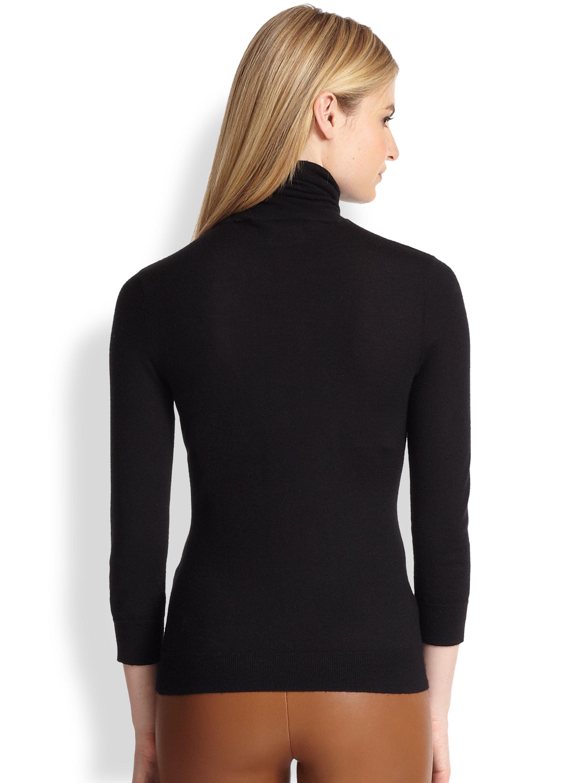 Lyst - Ralph Lauren Black Label Cashmere-silk Knit Tank