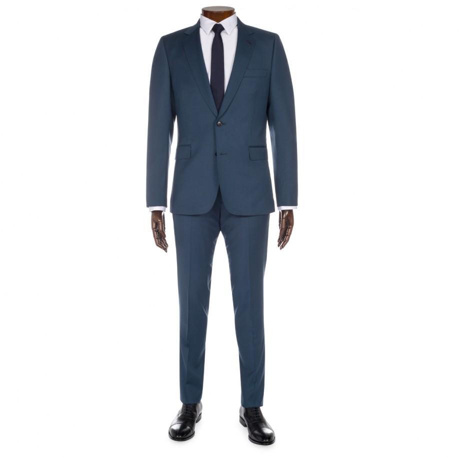 3edbfdba12 Paul Smith Men's Petrol Blue Slim-fit Wool Suit in Blue for Men - Lyst