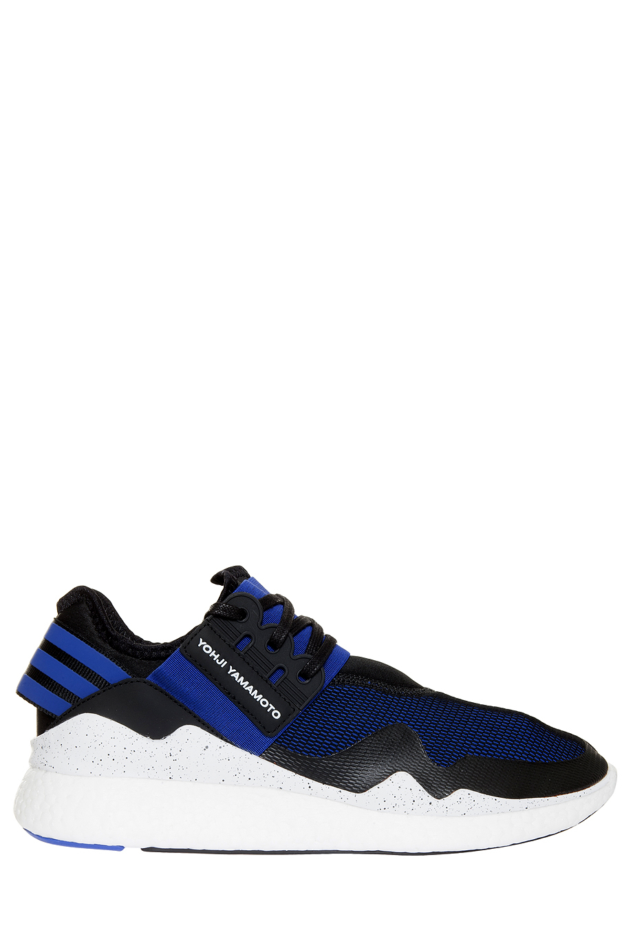 y 3 retro boost trainers in blue for men black save 50. Black Bedroom Furniture Sets. Home Design Ideas