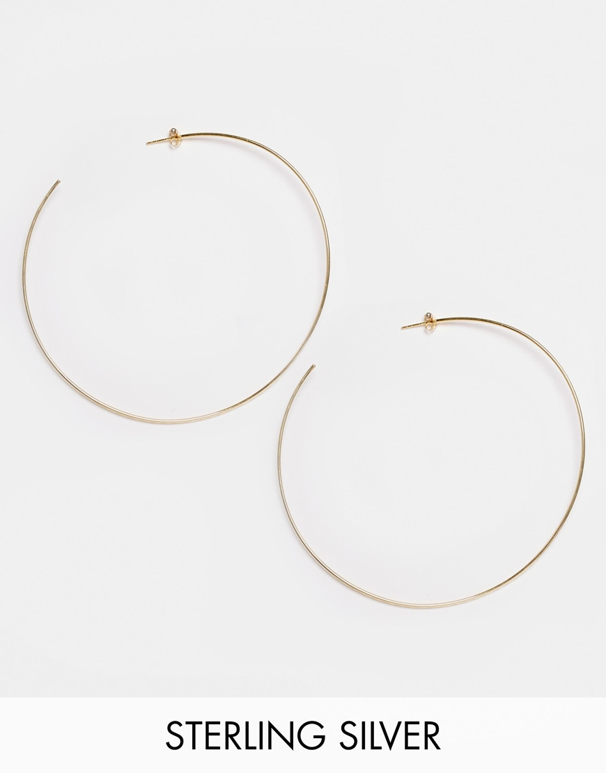 Asos Gold Plated  Hammered Rings