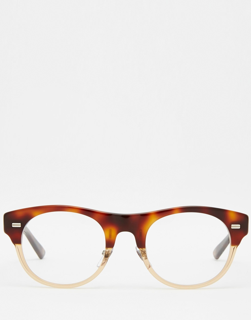 clubmaster acetate sunglasses  Gucci Clubmaster Acetate Glasses in Brown for Men