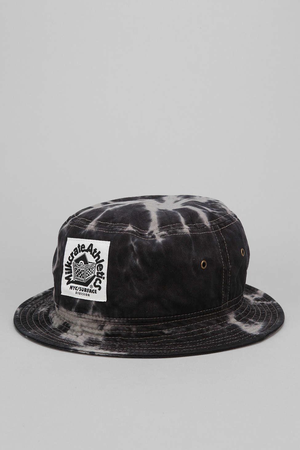 Lyst - Milkcrate Athletics Grey Tie-dye Bucket Hat in Gray for Men 6f138f11add5