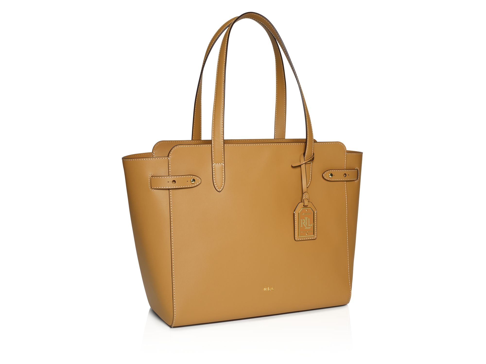 Pink pony Lauren Harper Parker Tote in Brown | Lyst