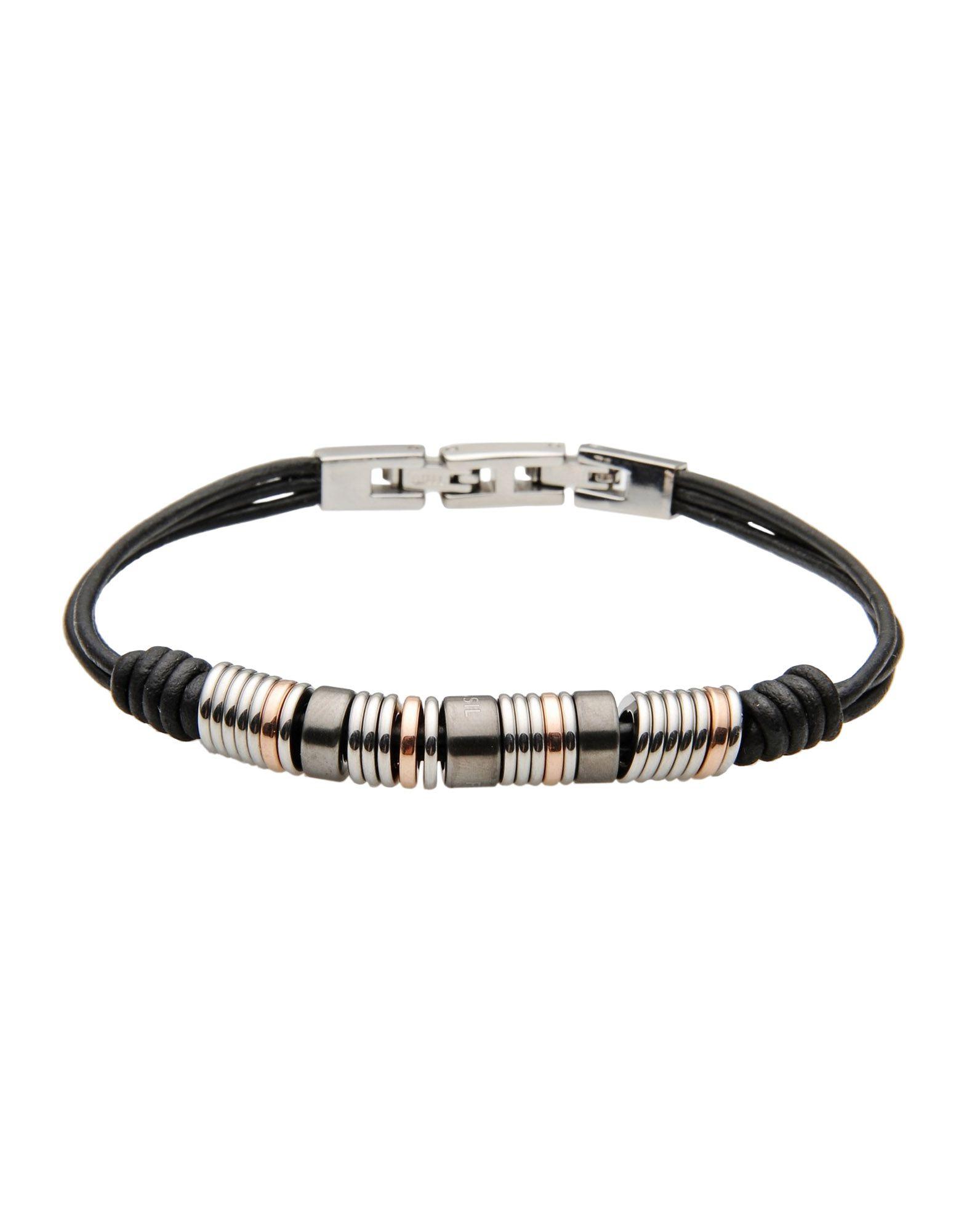 fossil bracelet in black lyst