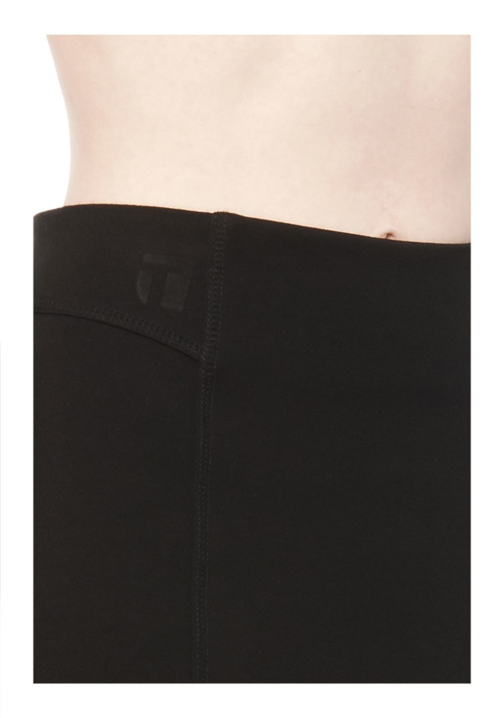 Lyst Alexander Wang Double Knit Ponte Skirt In Black