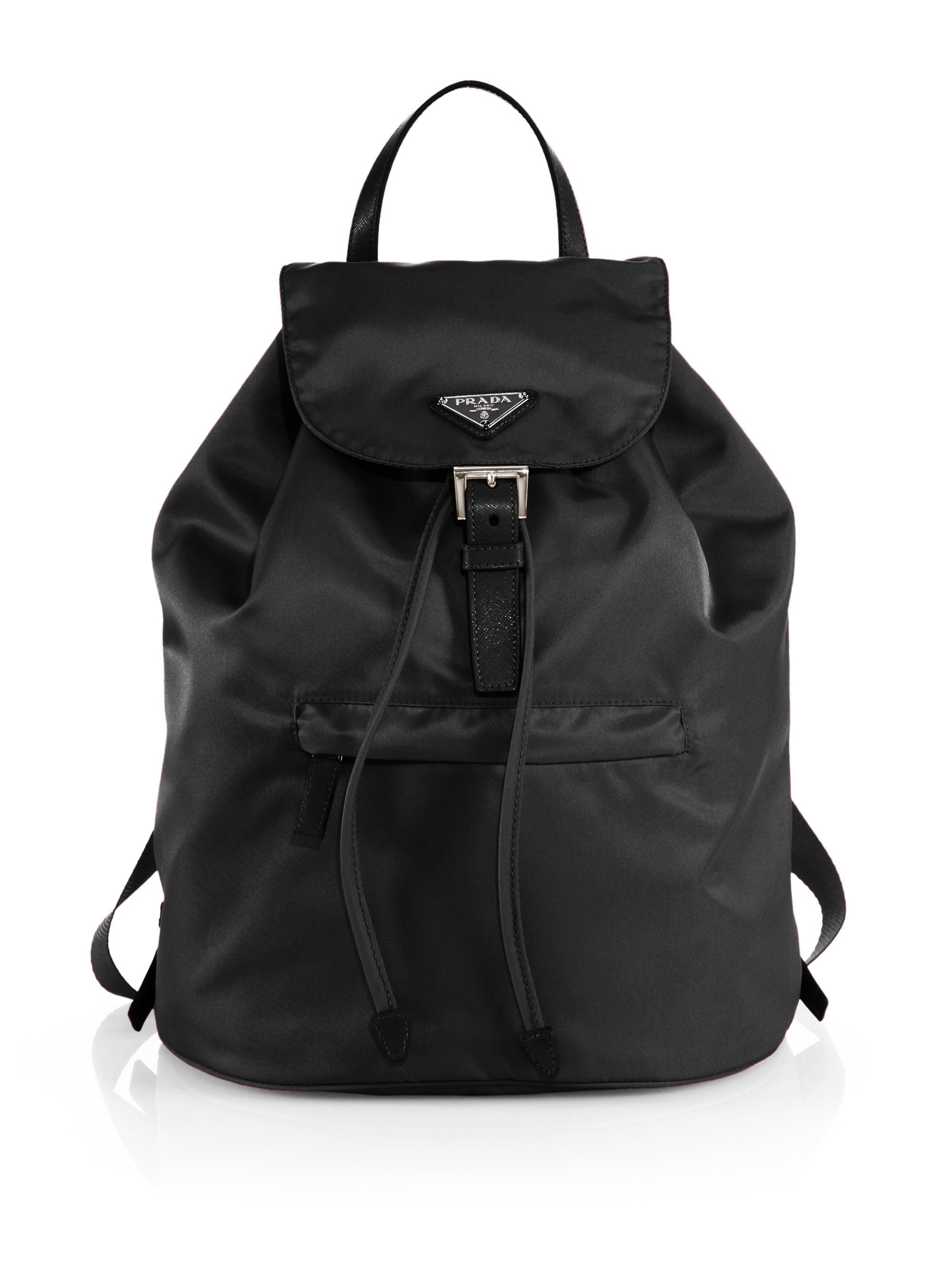 Prada Vela Backpack In Black Nero Black Lyst