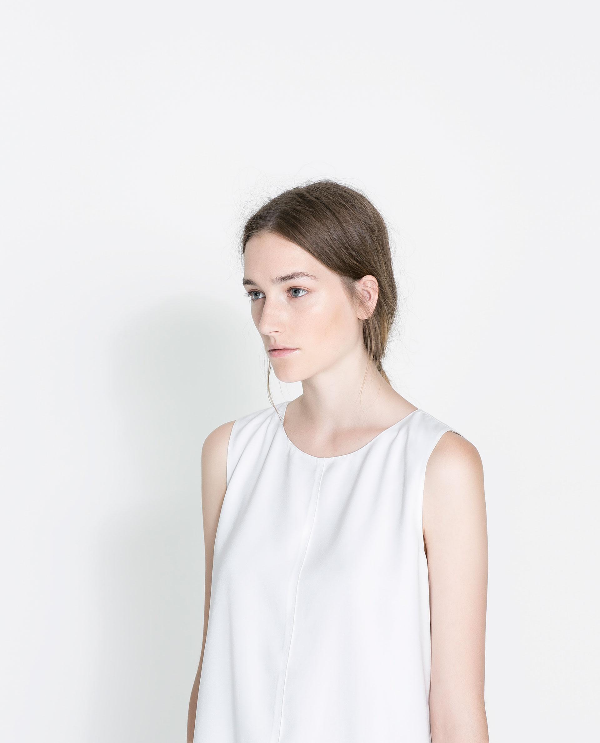 Zara Sleeveless Blouse 4